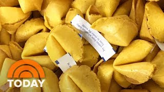 Al Roker Visits The Largest Fortune Cookie Factory In The World | TODAY