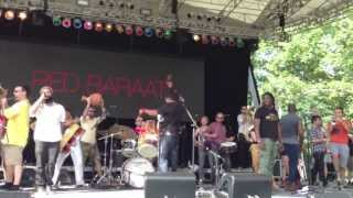 Red Baraat Summerstage closing number with guest musicians