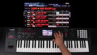 Roland FA-06/08 - Advanced Layers and Splits Part 2