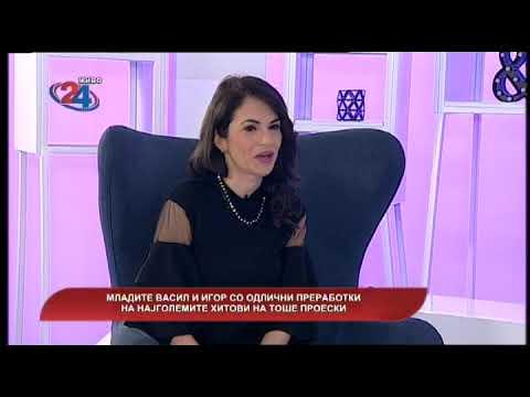 Македонија денес - Младите Васил и Игор со одлични преработки на најголемите хитови на Тоше Проески