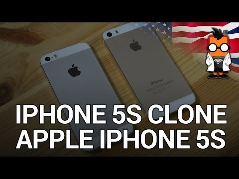 IPhone 5S Clone Review With Apple IPhone 5S Comparison