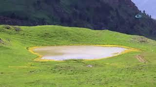 Adını Efsanelerden Alan 'Dipsiz Göl' Havadan Görüntülendi