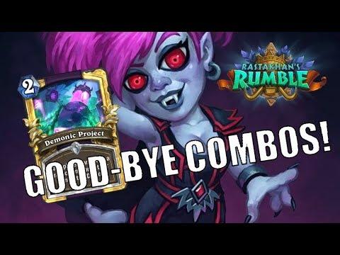 Rastakhan Control Warlock | Good-Bye Combos!