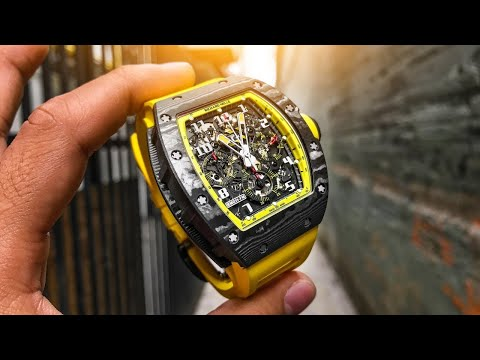 Richard Mille RM011 Yellow Storm Watch Review - A Keeper?
