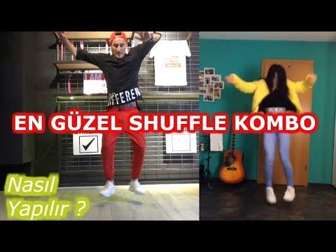 SHUFFLE DANCE NASIL YAPILIR ?    EN GÜZEL KOMBO  Step by Step
