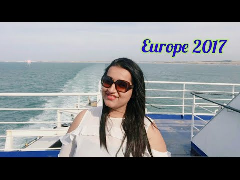 Last Day of Euro Trip Crossing English Channel  -Europe Trip 2017 | Treasures Of Europe - Star Tours