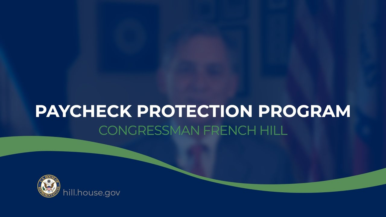 Rep. French Hill: Thousands of jobs are still in Arkansas thanks to the Paycheck Protection Program