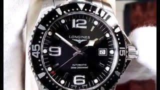 Unboxing: Longines HydroConquest L3.642.4.56.6
