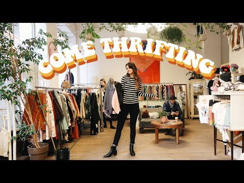 come thrifting with me in budapest!
