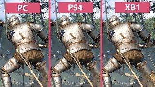 [1080p] Kingdom Come Deliverance – PC vs. PS4 vs. Xbox One Graphics Comparison