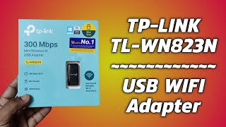 TP Link TL-WN823N 300Mbps Mini Wireless N USB Adapter - Best wifi Adapter For Your Computer