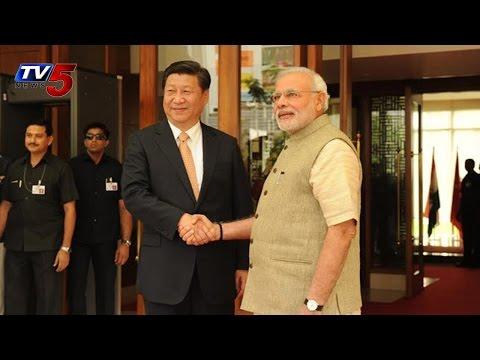 China President Xi Jinping India Visit | India and China sign bilateral agreements TV5 News