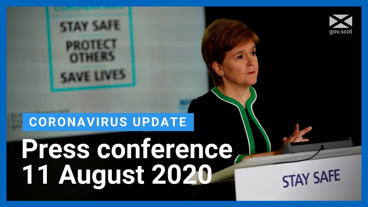 Coronavirus update from the First Minister: 11 August 2020