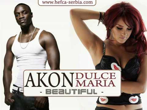 Akon feat Dulce Maria Beautiful full song HQ