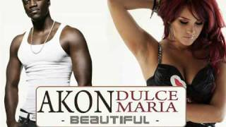 Akon feat Dulce Maria Beautiful full song HQ
