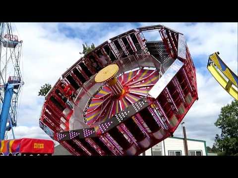 Rides at Oaks Amusement Park - Portland, Oregon