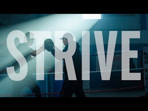 NSCC Strive - Fight for more. (Aaron Francis, Business Administration)