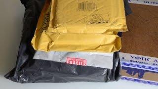 Розпакування 5-ти дрібних пакетів з ретро-дисками