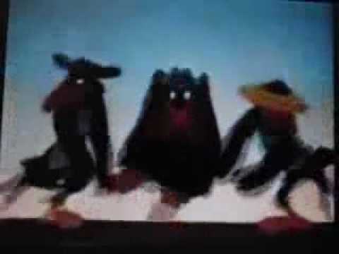 Crows From Dumbo Get High