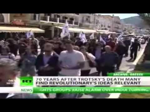 Trotsky on Russian TV