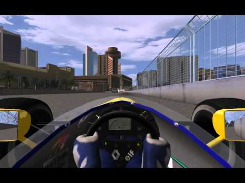 rFactor F1 1991 mod - Phoenix 1991 season first leg hot lap