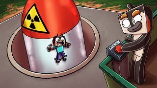 Minecraft   SECURE BUNKER CHALLENGE - Nukes vs Bunker! (Protect Your Base)