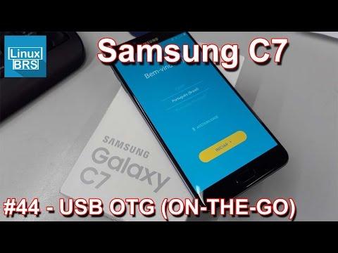 Samsung Galaxy C7 - USB OTG (ON-THE-GO)