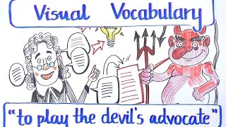 Visual Vocabulary - To Play the Devil