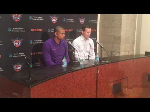 Ryan McDonough and Earl Watson post-draft press conference