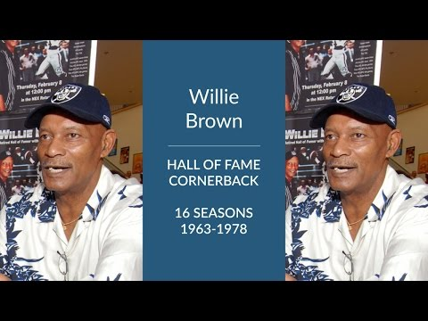 Willie Brown: Hall of Fame Football Cornerback