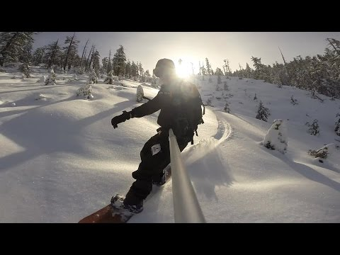 Horse Mountain Humboldt County Snowboarding January 6, 2017