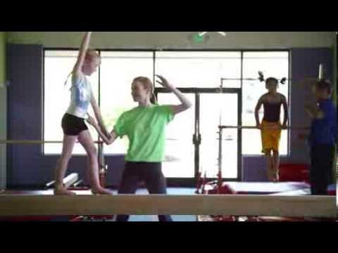 Gymnastics Sleepover 2011 Gym Acro Routines Doovi