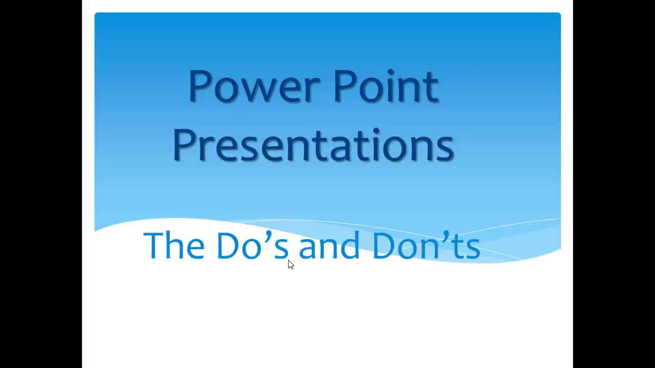 how to make good presentation These seven tips from kelley robertson will show you how to create a sales  presentation that will make the sale.