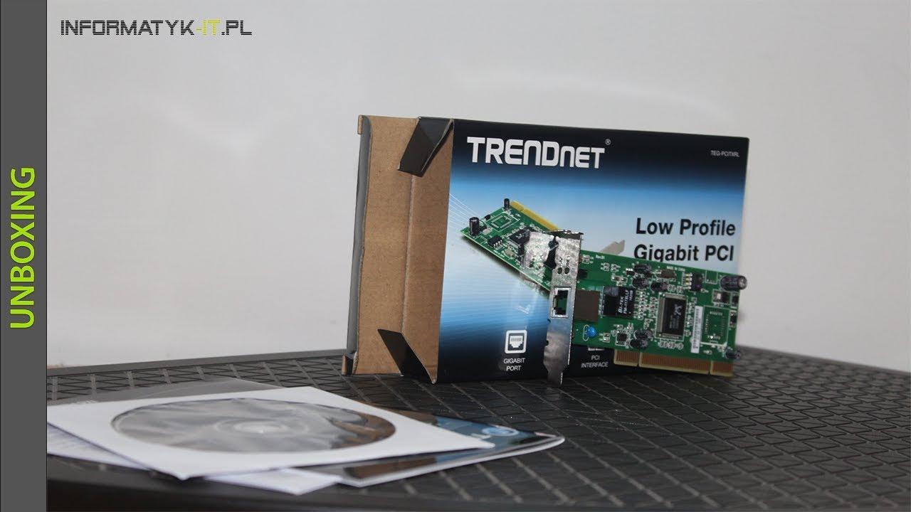 Unboxing karty sieciowej TRENDNET