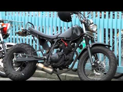 Yamaha Tw200 Modified yamaha tw200 - YouTube