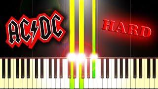 Video AC/DC - IT'S A LONG WAY TO THE TOP (IF YOU WANNA ROCK 'N' ROLL) - Piano Tutorial download MP3, 3GP, MP4, WEBM, AVI, FLV Mei 2018