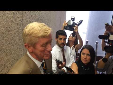 Former Gov. Bill Weld says he isn't pitching Mass. Gov. Charlie Baker on Libertarian presidential ticket (video)