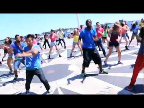 National Dance Day 2012 Boston Collaboration - Can't Stop Me - Afrojack and Shermanology