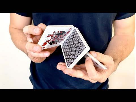 Cardistry Tutorial: Molecule Cut Card Flourish