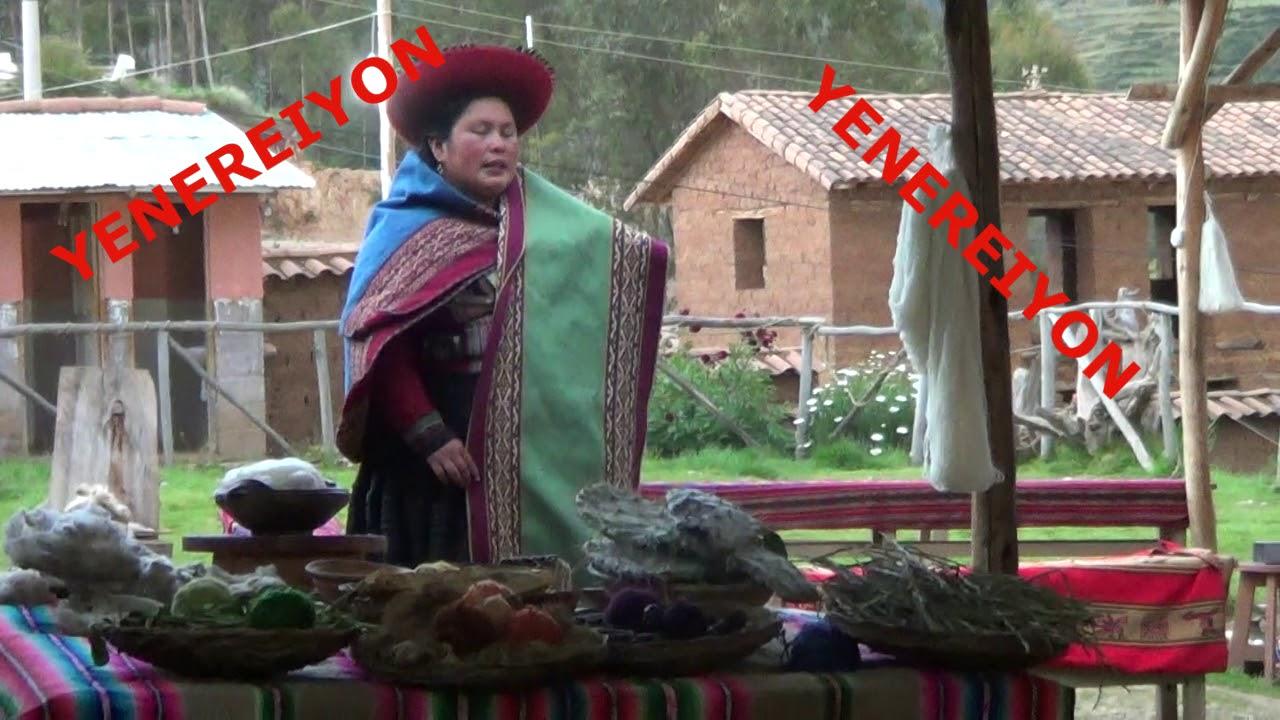 APRENDEMOS EL ARTE DE LOS TEJIDOS CUSQUEÑOS EN INGLES Y ESPAÑOL!! #5
