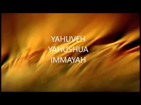 2016 06 15 YAHUVEH YAHUSHUA IMMAYAH - YouTube