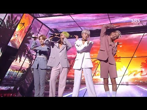 WINNER - 'LOVE ME LOVE ME' 0806 SBS Inkigayo