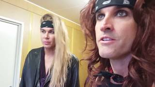 Steel Panther - The Burrito Interview at Sweden Rock 2017
