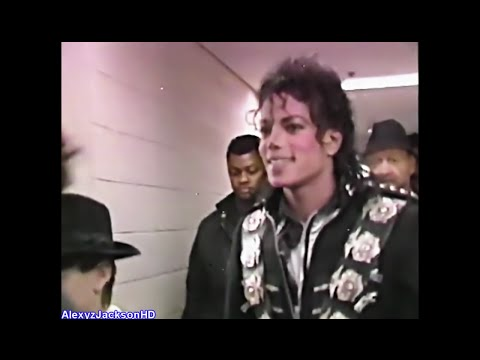 Michael Jackson - Emergency Specials Jackson came to the Stage From Tokyo Bad World Tour 1988 HD