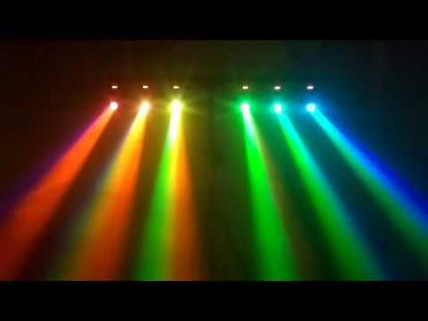 BOOMTONE DJ - FROGGY LED RGBW - Démo