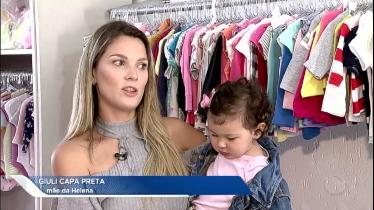 ccf70f386 Comprar e vender roupas infantis usadas vira moda entre as mães ...