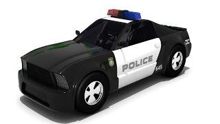 Auto cartoons für Kinder - Auto-cartoon - Polizei-Autos, cartoons für Kinder - Sergeant Cooper