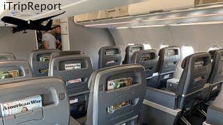 American A321NEO Inaugural First Class