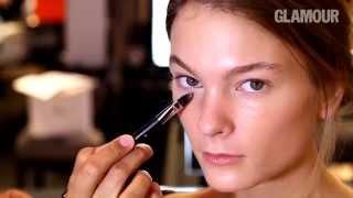 Мерцающий макияж, видеоурок от Dior