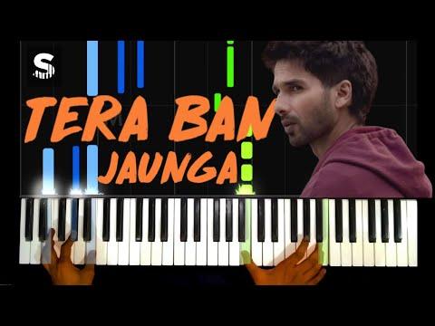 tera-ban-jaunga---kabir-singh-|-piano-cover-|-soham-korade